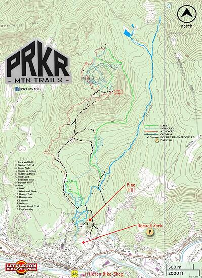 PRKR MTN Trails