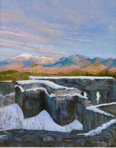 Bob Copeland painting